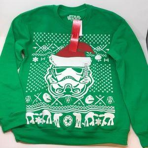 Star Wars Men's Storm Trooper Holiday Sweatshirt